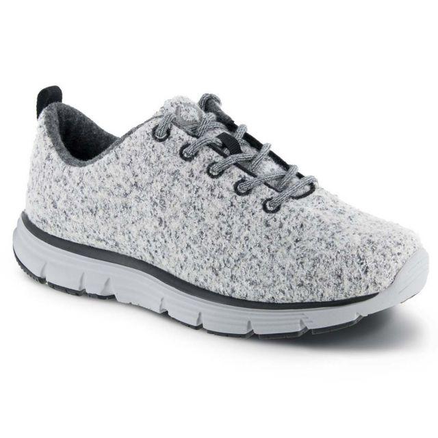 Apex A8000M Men's Natural Wool Knit Sneaker