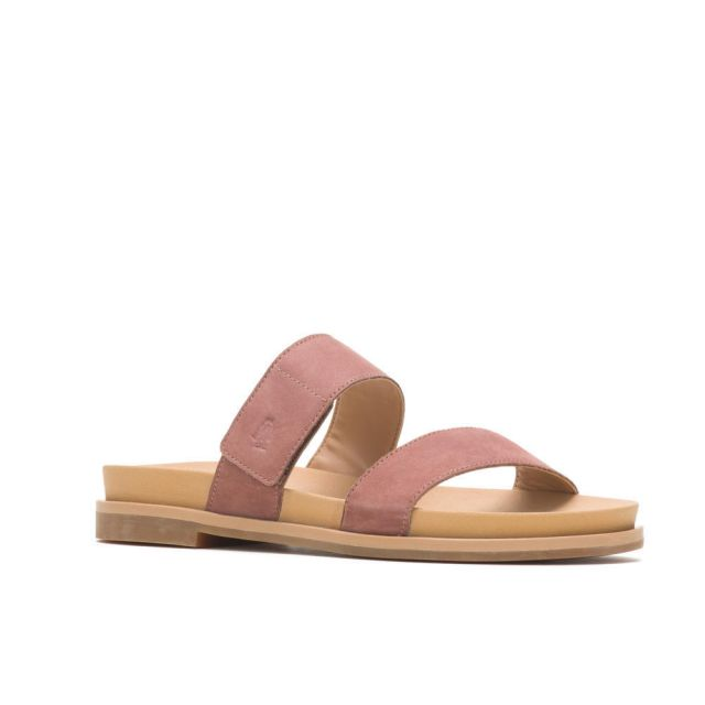 Hush Puppies Lilly 2 Band Slide Womens