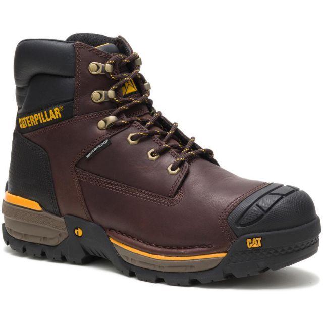 """CAT - Caterpillar Men's Excavator LT 6"""" Waterproof Work Boot"""
