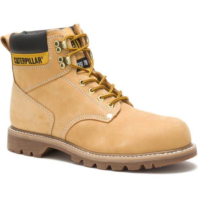 CAT - Caterpillar Men's Second Shift Steel Toe Work Boot