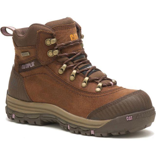 CAT - Caterpillar Women's Ally Waterproof Composite Toe Work Boot