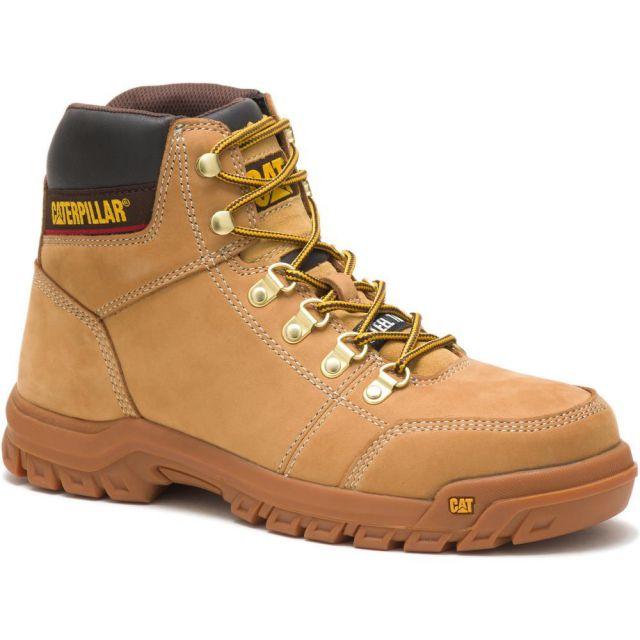 CAT - Caterpillar Men's Outline Steel Toe Work Boot