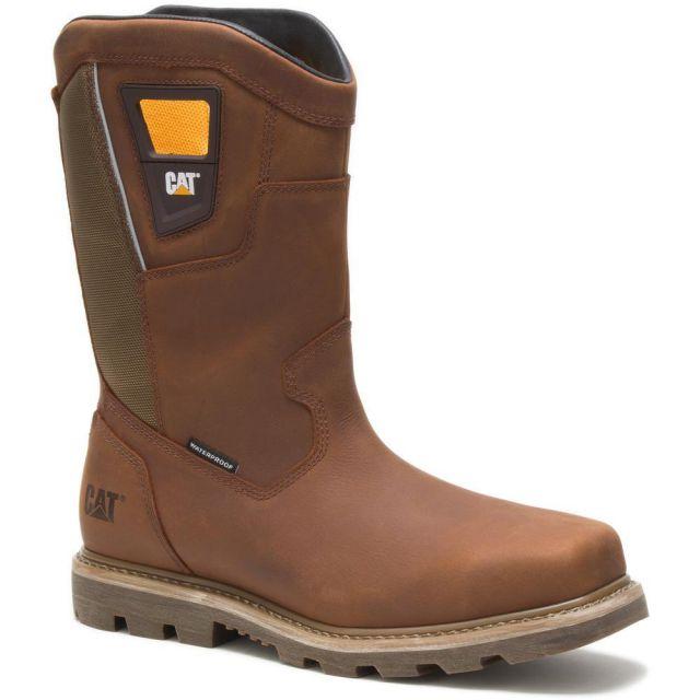 CAT - Caterpillar Men's Stillwell Waterproof Steel Toe Work Boot