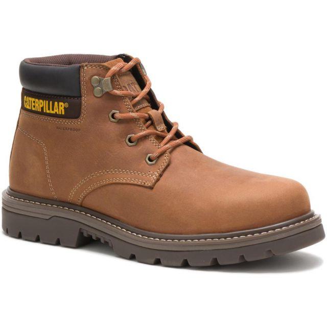 CAT - Caterpillar Men's Outbase Waterproof Steel Toe Work Boot